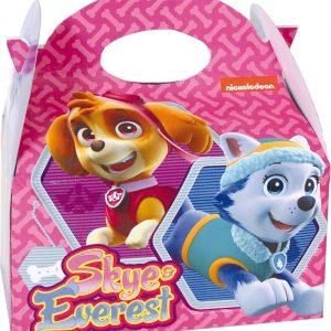 FESTISHOP S.L - Paw Patrol Stella + Everest cadeaudoos - Decoratie > Feestzakjes
