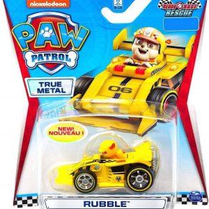 Paw Patrol Die cast ready race rescue voertuig - Rubble - 7 cm