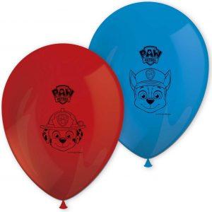 Paw Patrol Ballonnen 28cm 8 stuks
