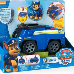 Paw Patrol Deluxe Voertuig Chase on-a-roll