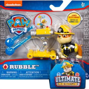 Paw Patrol Action Pack Pup Rubble Ultimate Rescue Water Cannon