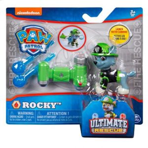 Paw Patrol Action Pack Pup Rocky Ultimate Rescue Water Cannon