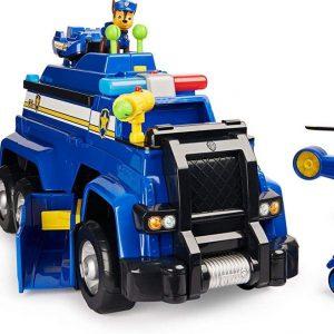 PAW Patrol - PAW Patrol Speelgoed -  Chase - Politieauto met licht en geluid - 5 in 1 Politieauto
