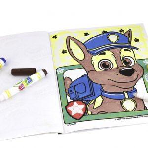 Color Wonder Box set Paw Patrol - Kleurboek inclusief 5 Stiften