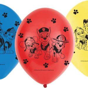Paw Patrol Ballonnen 23cm 6 stuks