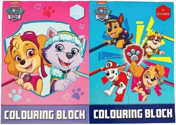 Toi-toys Kleurboek Paw Patrol Junior Karton/papier Roze