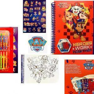 PAW Patrol activiteitenboek met stickers | Kleurplaten kleurpotloden en stickers | PAW Patrol speelgoed | Tekenen | Kleuren | Stickers | Kleurpotloden | Tekenset voor kinderen