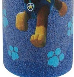 1x Paw Patrol waterpistool/waterpistolen van foam blauw - Chase - 15 cm - Zomerspeelgoed/buitenspeelgoed