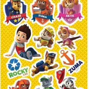 Nickelodeon - Paw Patrol Mini Stickers - 4 vellen
