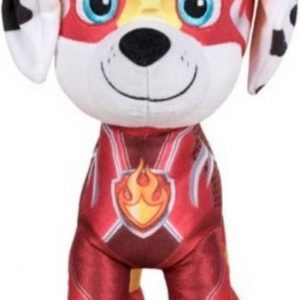 Mighty Paw Patrol Knuffel Marshall 20cm | Paw Patrol & Friends | Chase - Rubble - Marshall - Skye - Zuma - Rocky - Ella - Tuck | Nickelodeon | Speelgoed