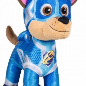 Chase | Paw Patrol | Mighty Pups Super Paws | Pluche | 38cm