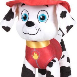 Pluche Paw Patrol knuffel Marshall - Classic New Style - 27 cm - Cartoon knuffels - Speelgoed voor kinderen