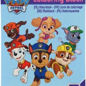 PAW Patrol - Kleurboek met stickers - PAW Patrol Kleurboek - Knutselen - Stiften - Tekenen - Stickers - Stickervellen