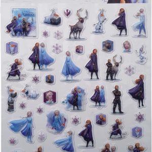 """Bubbel-stickers """"Frozen"""" +/- 50 Stickers"""