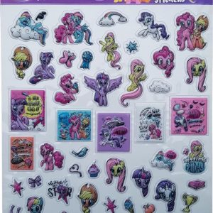 "Bubbel-stickers ""My Little Pony"" +/- 50 Stickers"