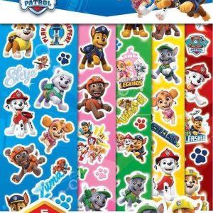 NICKELODEON - paw patrol stickers - stickervellen met meer dan 60 herbruikbare grote stickers - beloningsstickers