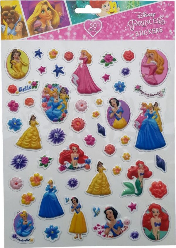 "Bubbel-stickers ""Princess"" +/- 50 Stickers"