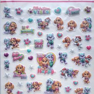 Nickelodeon PAW PATROL met 50 stickers