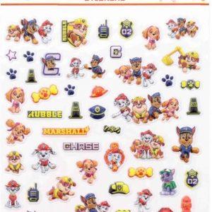PAW Patrol - PAW Patrol Stickers - PAW Patrol speelgoed - Bubbel stickers - Puffy Stickers - 3D stickers - Schoencadeautjes - Sinterklaas cadeau