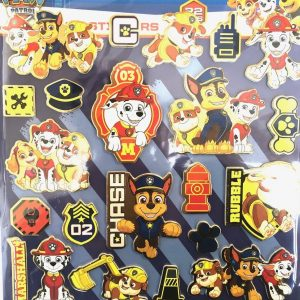 Nickelodeon PAW PATROL faom stickers met 22 stuks