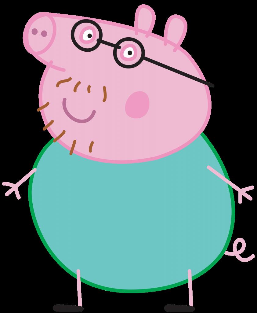 Papa pig